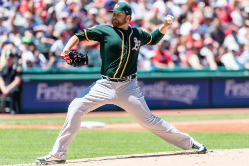 A's win fourth consecutive series with shutout win over Indians