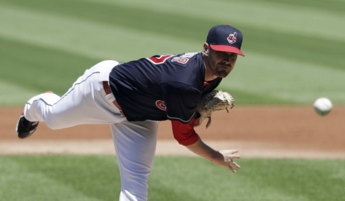 Athletics score early, often on way to 6-0 win over Indians