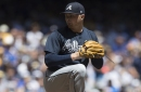 Newcomb struggles again as Braves fall to Brewers