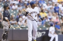 Josh Hader, Lorenzo Cain, Christian Yelich selected to All-Star team, Jesus Aguilar left out