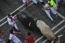 Pamplona's 3rd day of bull race ends with 4 runners injured