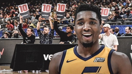 Donovan Mitchell thinks there should a be Summer League dunk contest