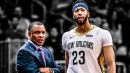 Alvin Gentry denies that Anthony Davis didn't want DeMarcus Cousins back on Pelicans