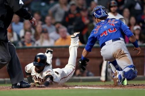 Giants young and old contribute to walkoff win over the Cubs