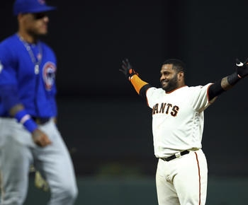 Pablo Sandoval singles home winning run in 11th for Giants