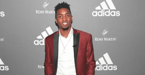 Donovan Mitchell hints at potential signature shoes with Adidas