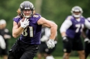 Ravens TE Hayden Hurst says team's QBs 'trust me to make a play'
