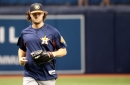 Astros Roster Move: Gerrit Cole to Bereavement List, Jake Marisnick Recalled