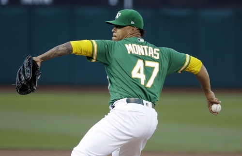 Frankie Montas optioned to minors after impressive outing