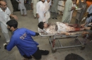 Pakistani Taliban claim bombing at rally that killed 21