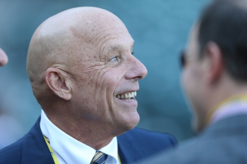 Former Giants coach Tim Flannery to pinch hit — in the PA booth