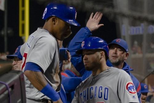Cubs seek series win over Giants