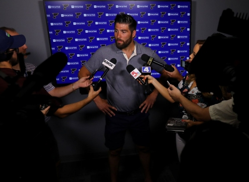 Signing with Blues ends stressful time for Maroon