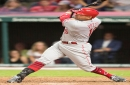 Cincinnati Reds Joey Votto, Cleveland Indians Trevor Bauer share smiles, laughs in at-bats