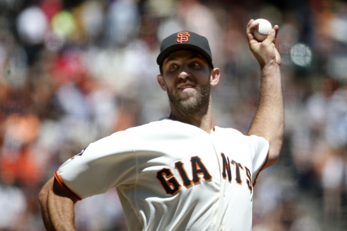Giants building suspense with pitching staff ahead of Bay Bridge Series