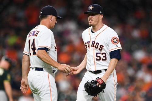 Astros Roster Move: Ken Giles Optioned, Cionel Perez Recalled