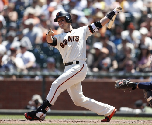 Posey's walkoff single in 13th inning sends Giants to series victory over Cubs