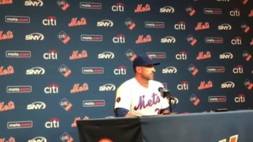 Mickey Callaway on the Mets' 3-0 win over the Phillies