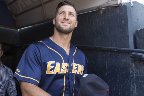 Tim Tebow committed to making majors — no matter what it takes