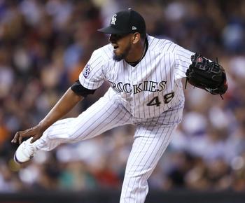 MLB roundup: German Marquez homers as Rockies pound Diamondbacks 19-2