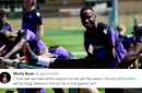 Stoke City defender offers fans wager about Saido Berahino