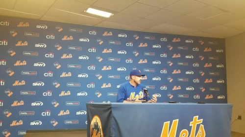 Mets manager Mickey Callaway on Amed Rosario not start Thursday