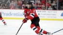 Devils' Taylor Hall not feeling any pressure after Hart Trophy win