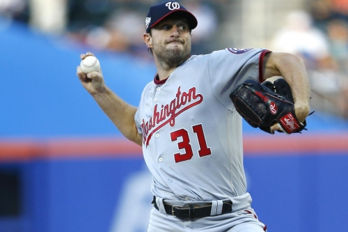 "Nationals' ace Max Scherzer wraps up ""first-half"" with a win over the Mets"