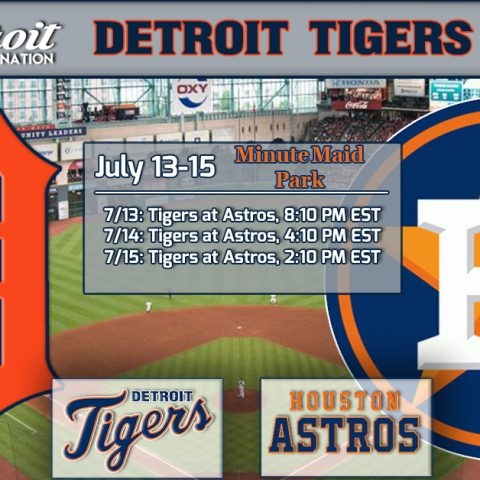 ON DECK: Tigers close out first half against defending champion Astros in Houston