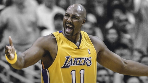 Karl Malone his lone year in LA was 'nothing but pure class'