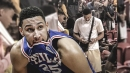 Sixers guard Ben Simmons seen with 2 phones at Vegas summer league