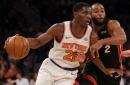 Knicks 102, Pelicans 83: Scenes from the return of good Damyean Dotson