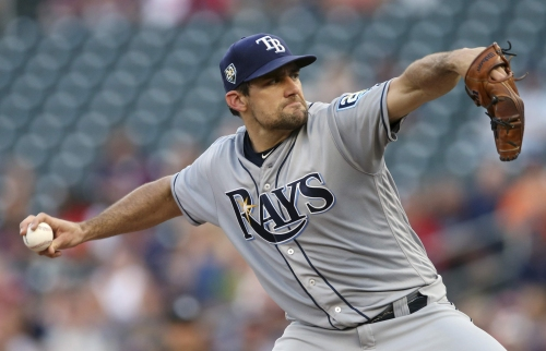 Rays journal: Nathan Eovaldi takes an early exit