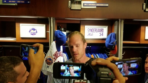 Noah Syndergaard on how his return from the disabled list