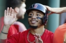 Mookie Betts triples twice but Rick Porcello, Joe Kelly allow 11 runs, Boston Red Sox's winning streak ends