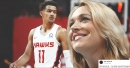Trae Young says he was 'starstruck' meeting Doris Burke