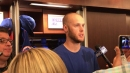 Mets pitcher Zack Wheeler on his home win