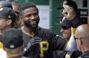 Marte, Polanco go back-to-back as Pirates sweep doubleheader