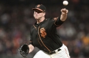 Giants fall to Athletics, 4-3, evening Bay Bridge series at one game apiece