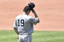 Yankees lose to Indians in final game before All-Star break