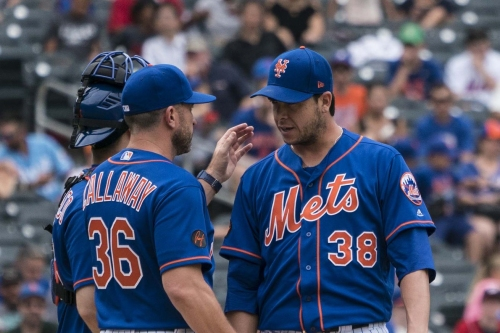 The Mets end the first half with a whimper, letting one bad inning make the difference against the Nationals