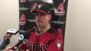 Lovullo on Teheran's performance, Corbin's bunt