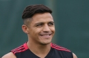 Alexis Sanchez not seen with Manchester United teammates as tour squad travel to United States