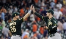 Grading the A's 25-man roster at the All-Star break