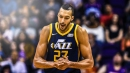 Video: Rudy Gobert ruthlessly swats kid wearing his jersey