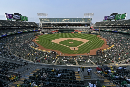 A's to do something at Coliseum that hasn't been done in 13 years