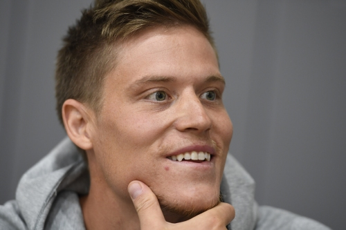 "Jonas Jerebko says joining the Warriors was an ""easy call"""