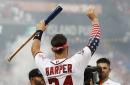 Bryce Harper edges Kyle Schwarber to win 2018 Home Run Derby at Nationals Park