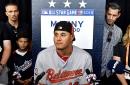 Philadelphia Phillies reportedly offering top prospect Adonis Medina for Manny Machado
