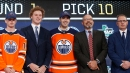 Oilers sign 2018 first-round draft pick Evan Bouchard